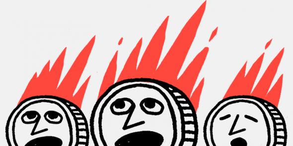 500 тыс. Ethereum было «сожжено» в сети криптовалюты