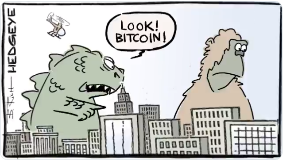 Hedgeye Bitcoin Satire Animation