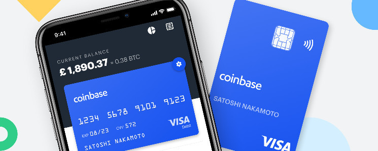 Криптовалютная биржа Coinbase стала эмитентом дебетовых карт Visa