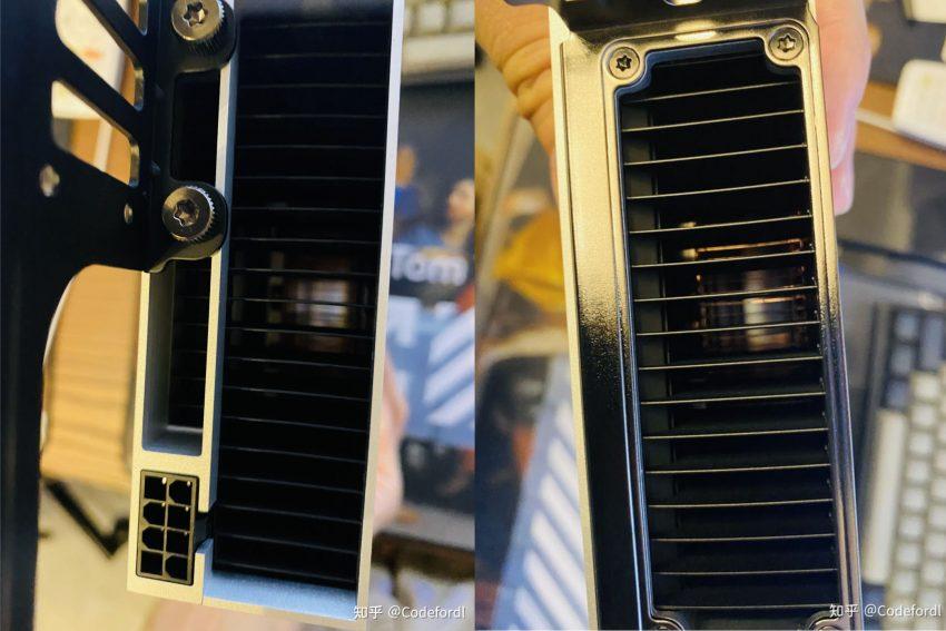 В сеть слили фото новой майнинг-видеокарты от NVIDIA