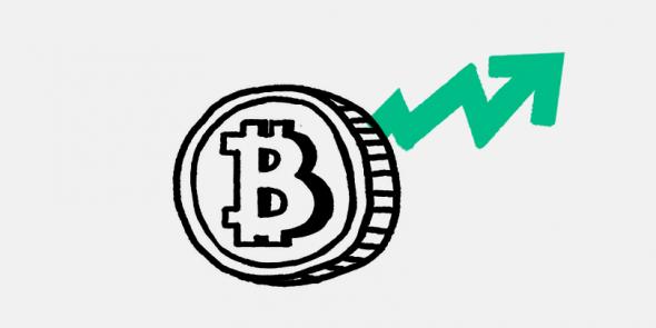 Курс биткоина обновил четырехмесячный максимум выше $56,7 тыс.