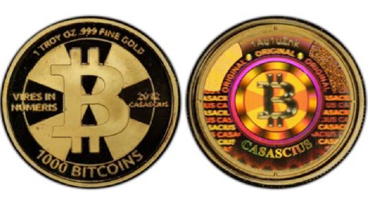 Монета номиналом в 1 000 BTC принесла владельцу более $51 млн за 10 лет