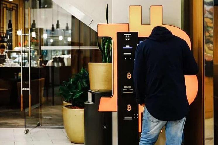 В 2021 году установлено более 10 тысяч биткоин-банкоматов