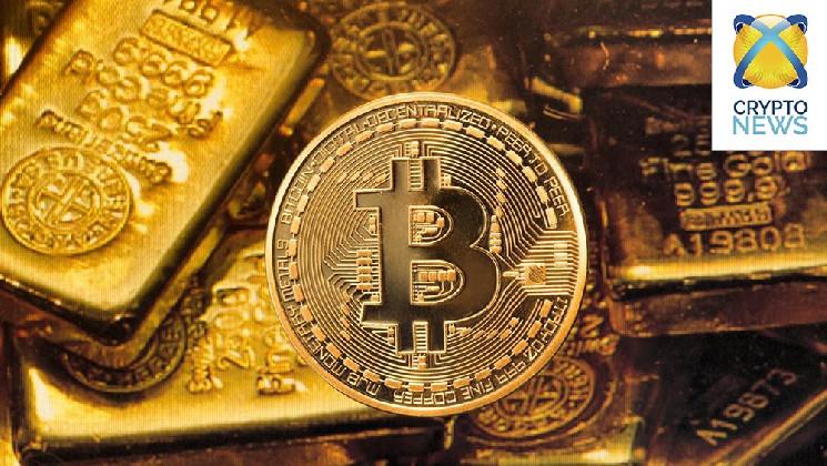 Почему биткоин укрепился против золота